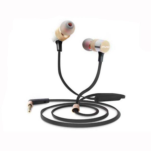 Awei эс 20ty в ухо тяжелый бас шумоизоляции с микрофоном Универсальные наушники
