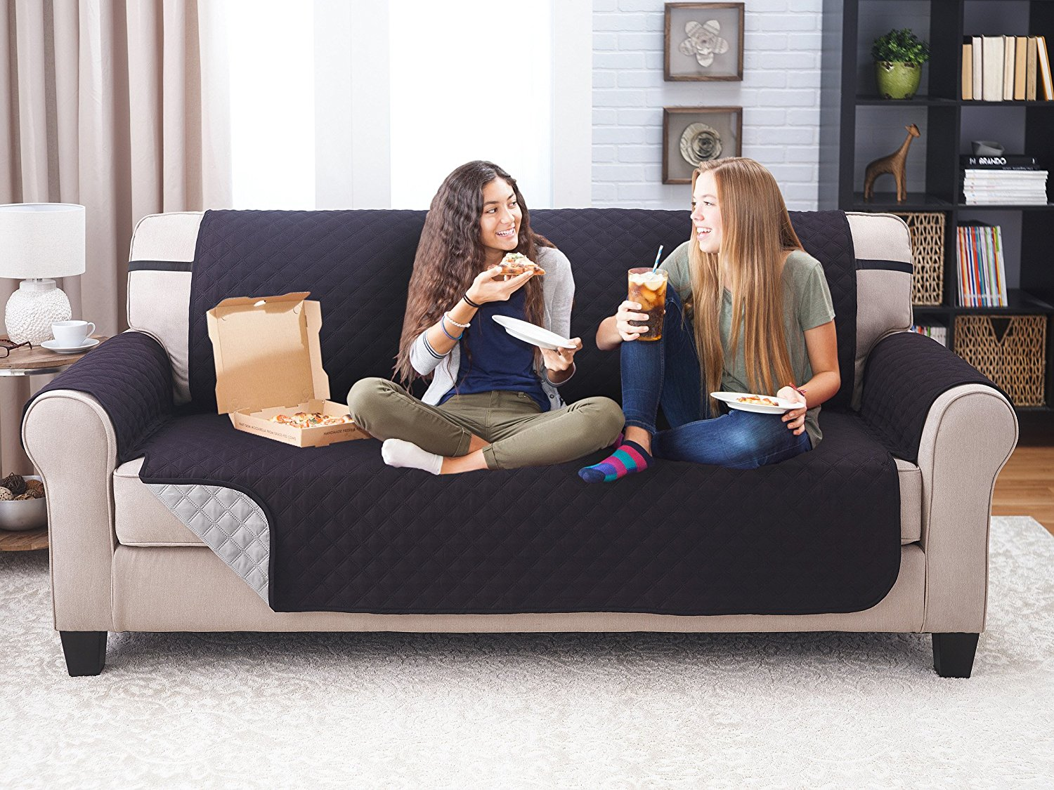 Astounding Kcasa Kc Pcp1 Reversible Quilted Furniture Protector Cover Solid Color Recliner Sofa Cover Home Decor Lamtechconsult Wood Chair Design Ideas Lamtechconsultcom
