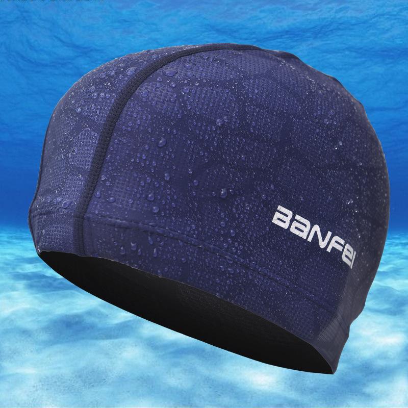 Nylon Spandex Водонепроницаемы Шапочка для плавания для наушников Шапка