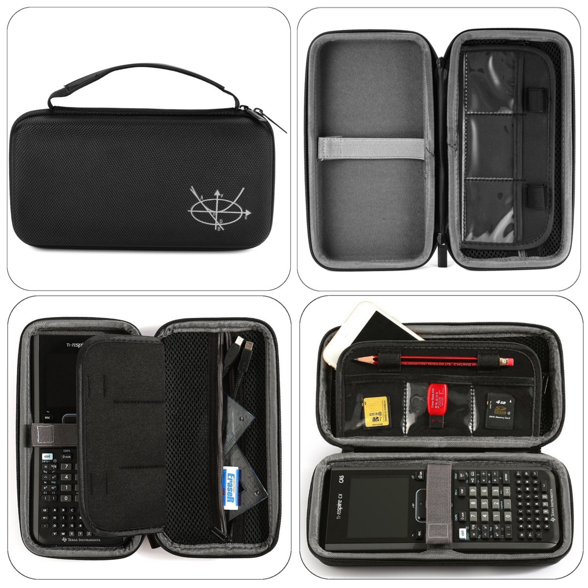 Texas Instruments TI-Nspire CX / CAS Pouch Bag Carrying Case Graphing  Calculator