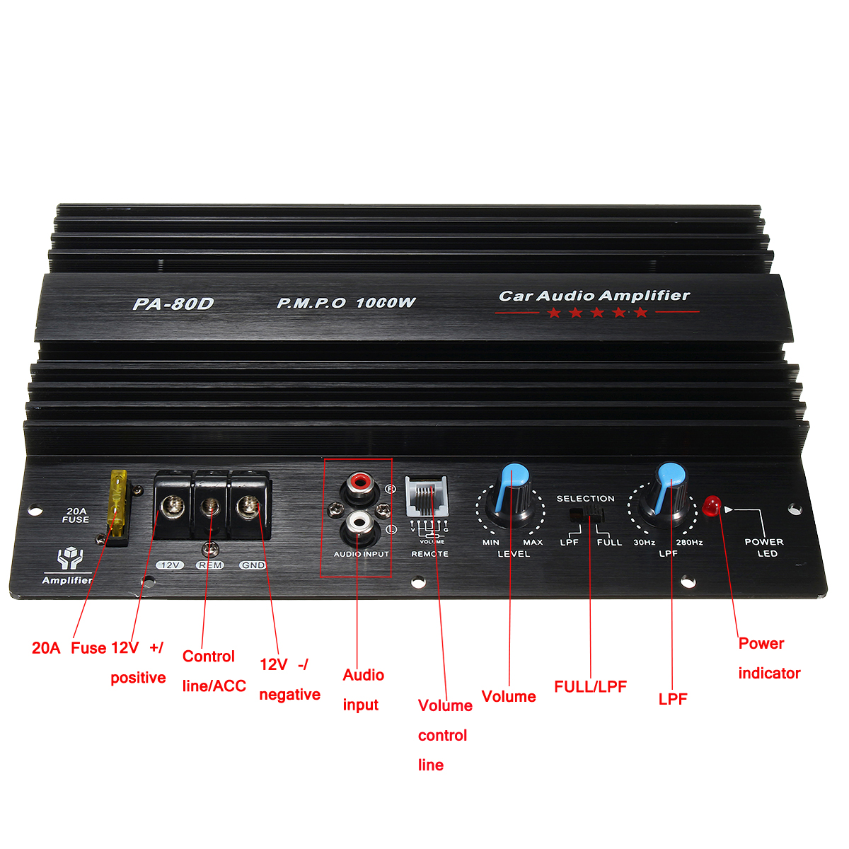 Car Audio Amplifier Wiring Diagram Collection Car Audio System