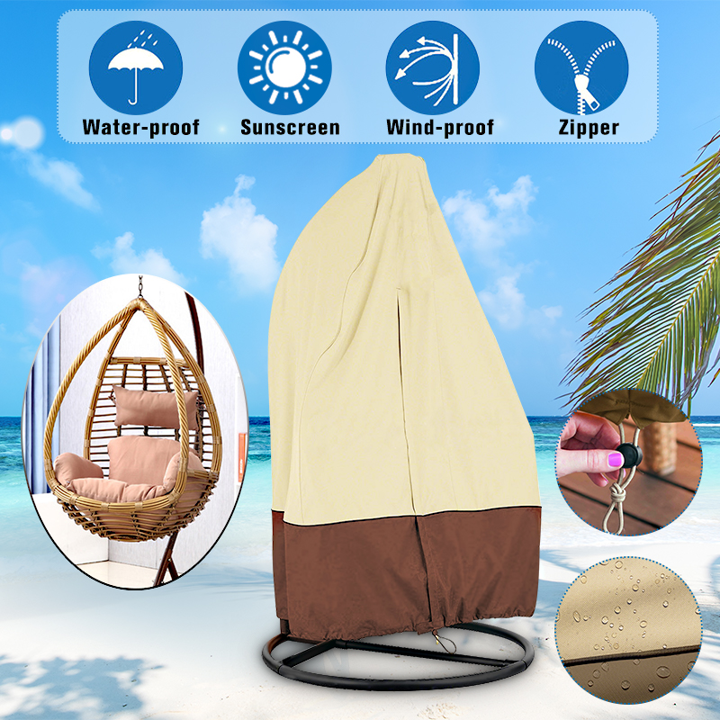 Pleasing Durable Waterproof Outdoor Hanging Egg Swing Chair Covers Dust Proof Protector Pdpeps Interior Chair Design Pdpepsorg