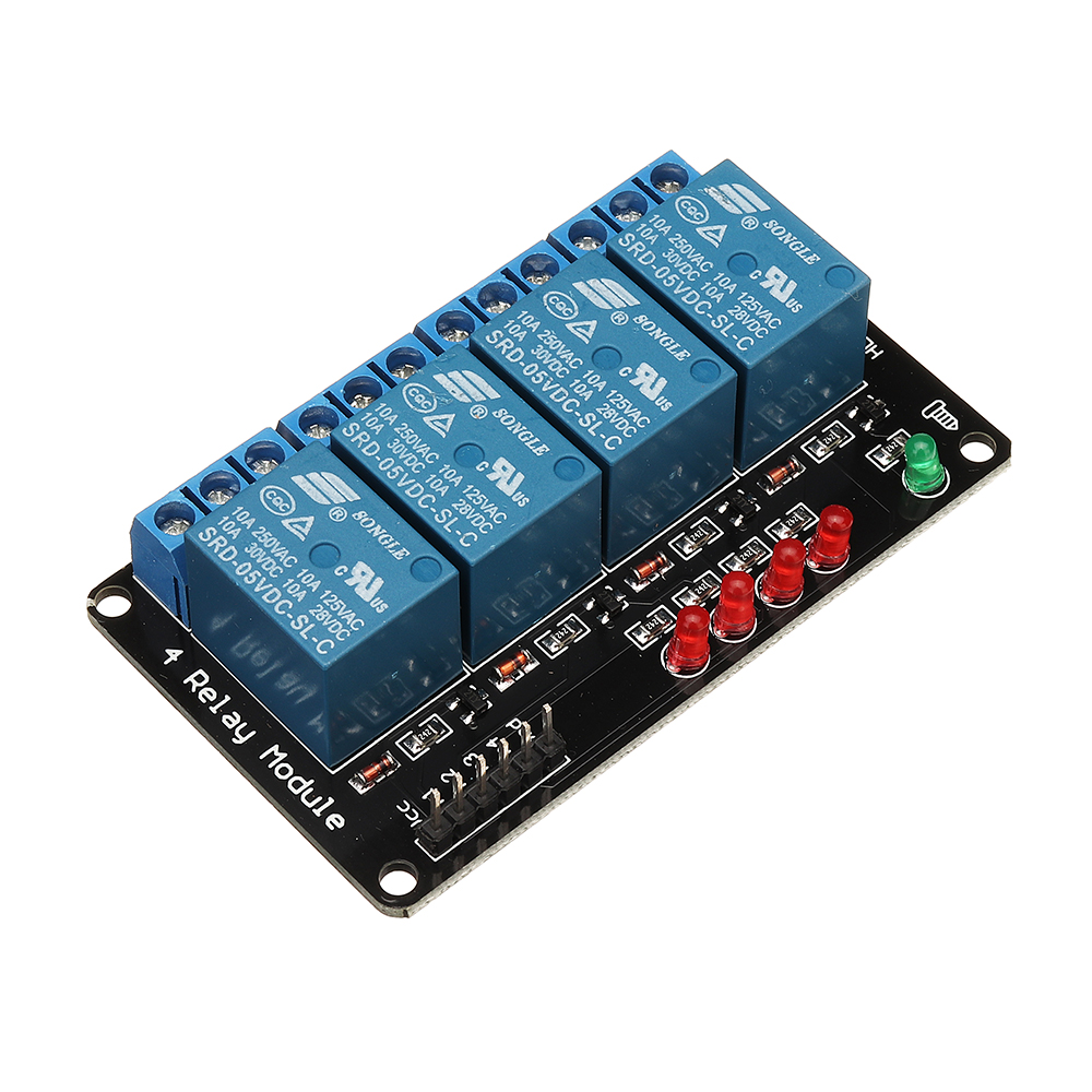 BESTEP 4 Channel 5V Relay Module Drive Board For Auduino MCU Control Board