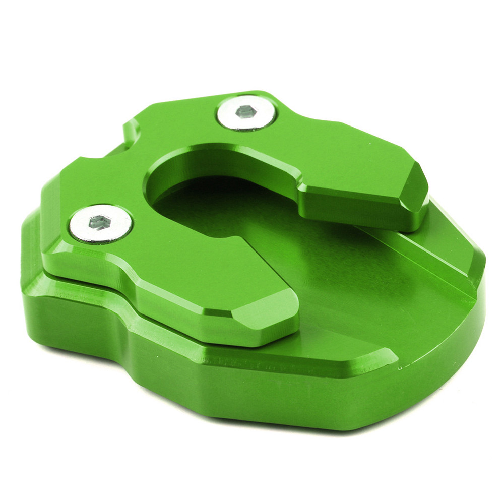 Motorcycle Flat Foot Side Stand Extension Pad Enlarge Pegs Fit For YAMAHA NMAX155 XMAX155