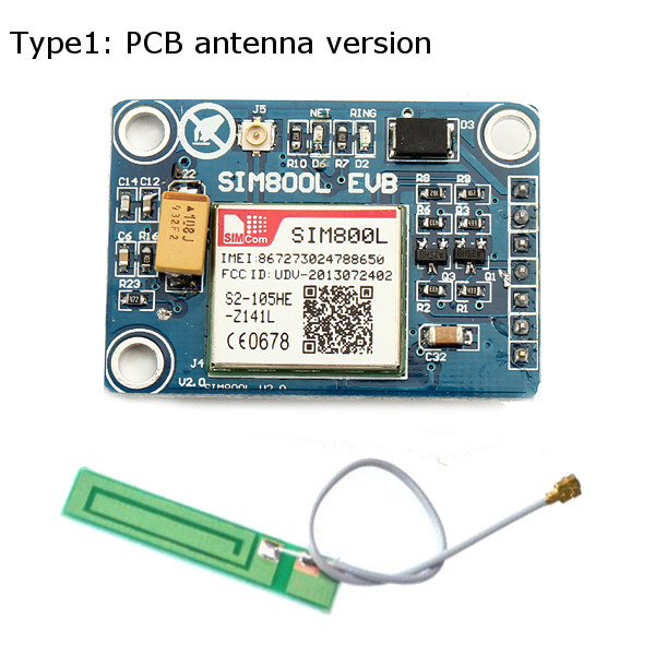 SIM800L Module Board Quad Band SMS Data GSM GPRS Globally Available For  Smart Home Switch