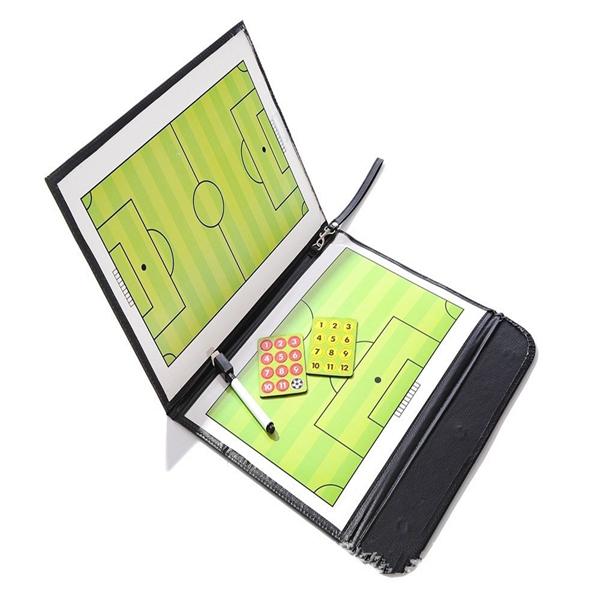 Складывающаяся магнитная доска Футбольная доска с песочницей Тактическая Пластина Набор для тактики с Ручка учебным клипом
