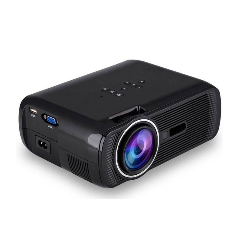 WZATCO CT80 Android 6.0 Projector 2200 Lumens 800x600P Wifi Smart Portable Mini LED 3D TV Support Full HD 1080p 4K Video