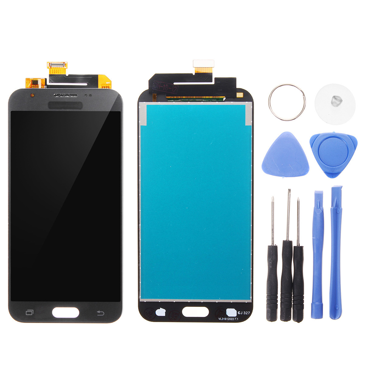 LCD Display + Touch Screen Digitizer Replacement With Repair Tools For Samsung Galaxy J3 Prime J327 2017