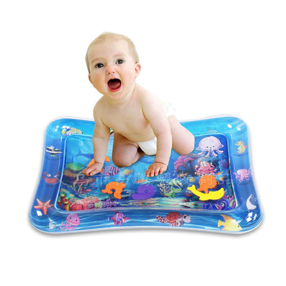 Inflatable Baby Water Mat Early Education Improve Learning Skill Toys for Kids Gift