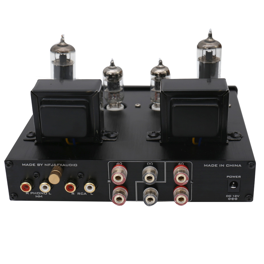 FX-Audio TUBE-P1 HIFI MCU Single Ended Classic A Desktop Power Tube  Amplifier Headphone Amplifier RCA/PHONO Input
