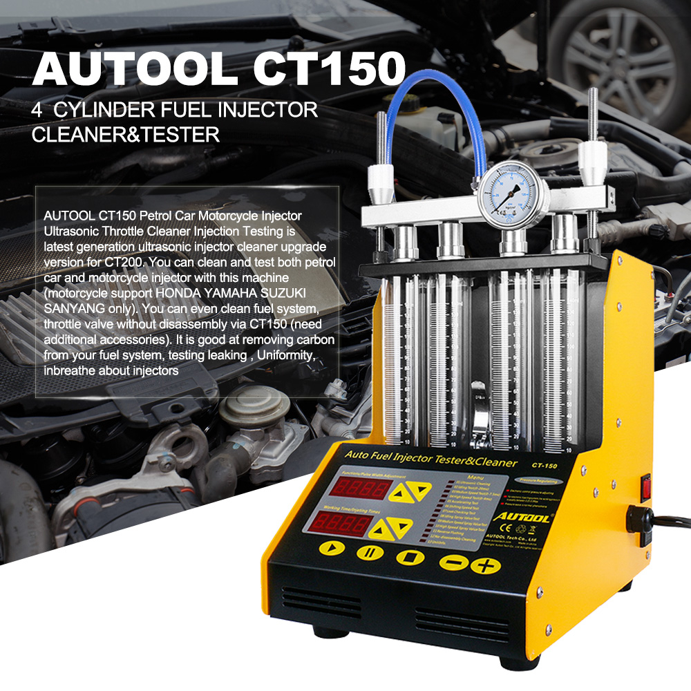 Excellent Autool Ct150 Car Fuel Injector Tester Ultrasonic Cleaning Cleaner For Vehicle Repair 4 Cylinder Diagnostic Tool Andrewgaddart Wooden Chair Designs For Living Room Andrewgaddartcom
