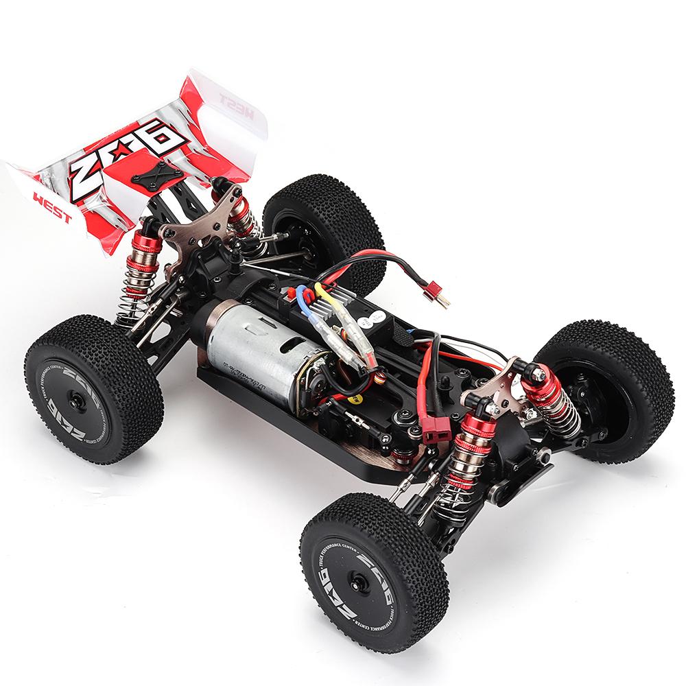 019a0a59 1f00 43f3 b6f8 f6db3ff311a3 Wltoys 144001 1/14 2.4G 4WD High Speed Racing RC Car Vehicle Models 60km/h Two Battery 7.4V 2600mAh