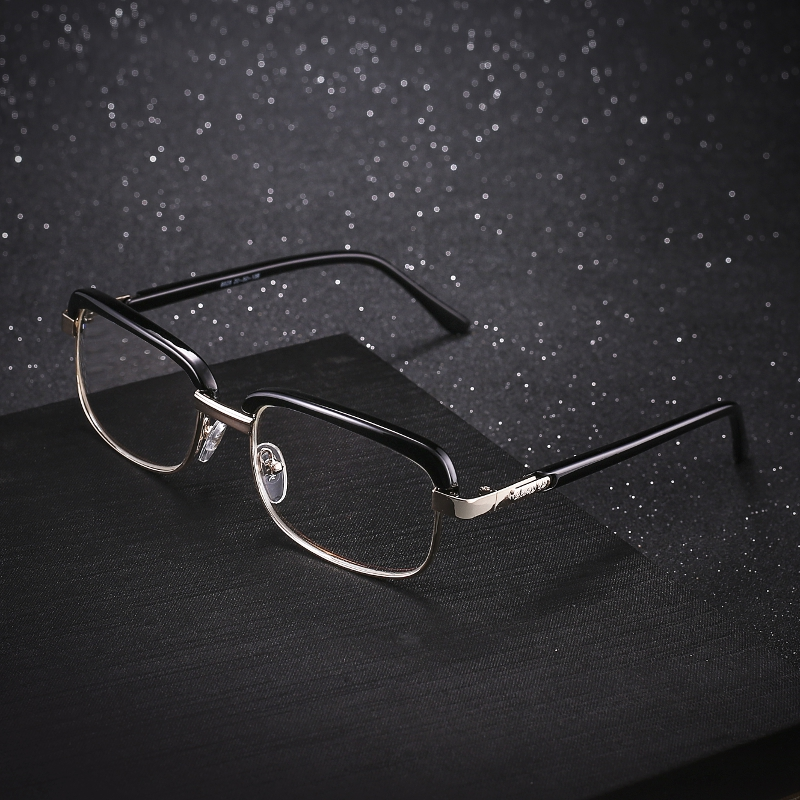 SHUAIDI Anti-fatigue Reading Glasses Black Frame