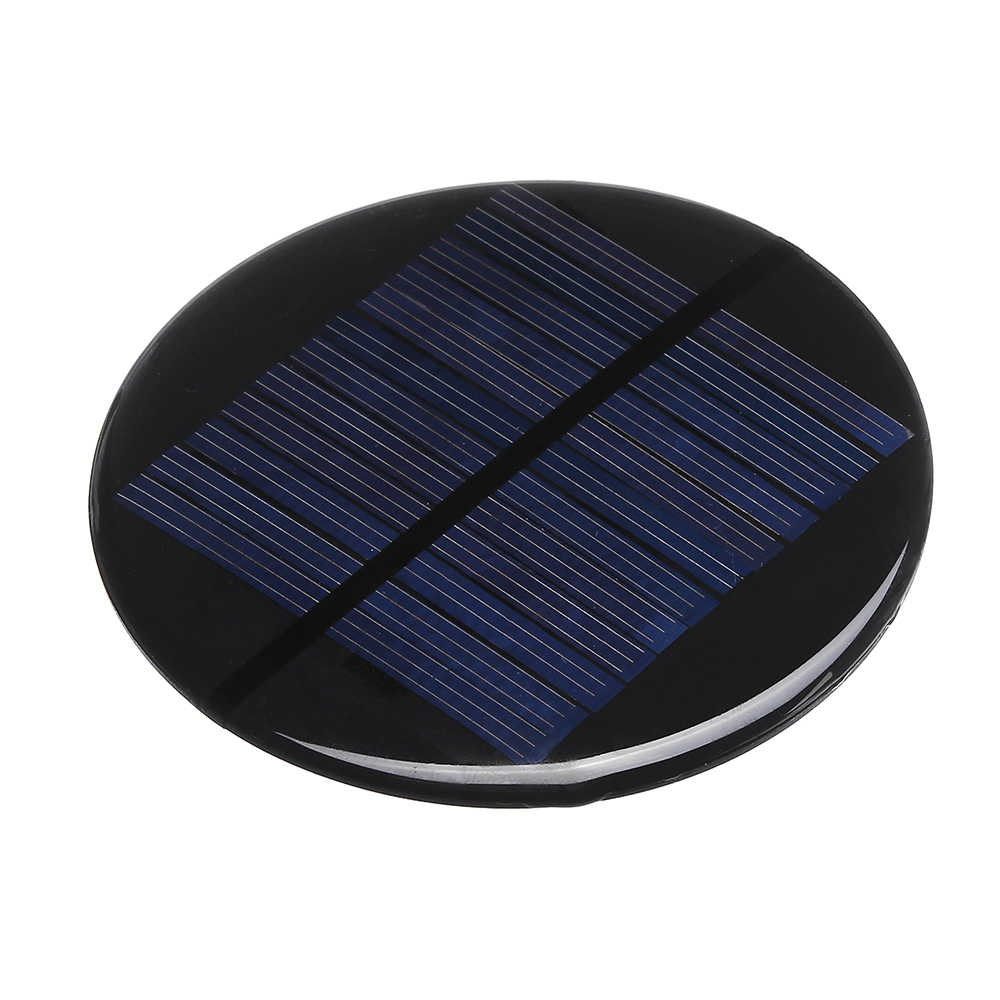 Φ80MM 6V 2W Round Style Polycrystalline Solar Panel Epoxy Board