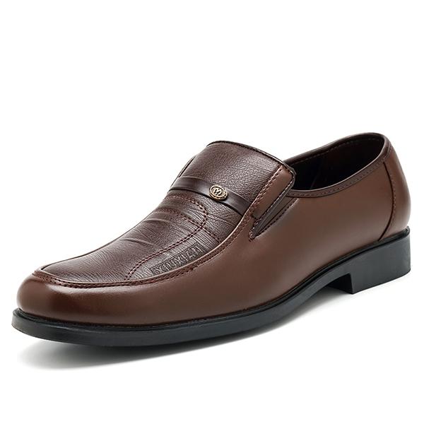 МужчинывскользьSoftКожанаяобувьдля бизнеса Официальная обувь