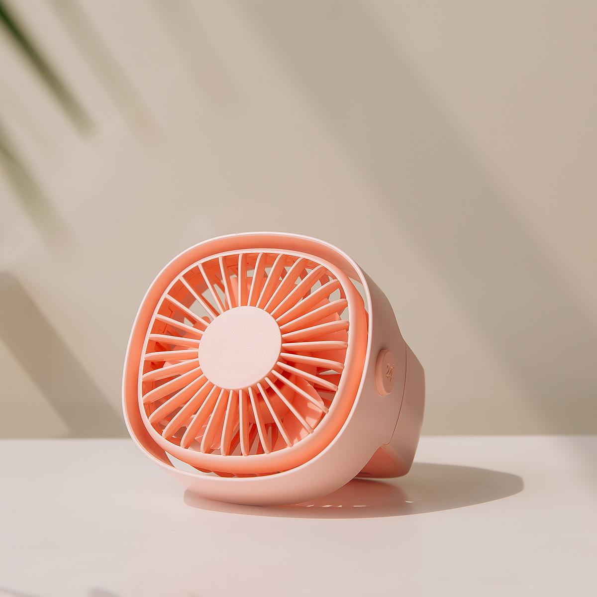3life Mini FanRotating Настольный вентилятор с низким уровнем шума Сильный ветер Естественный ветер USB-зарядка [XIAOMI Экологическая цепь]