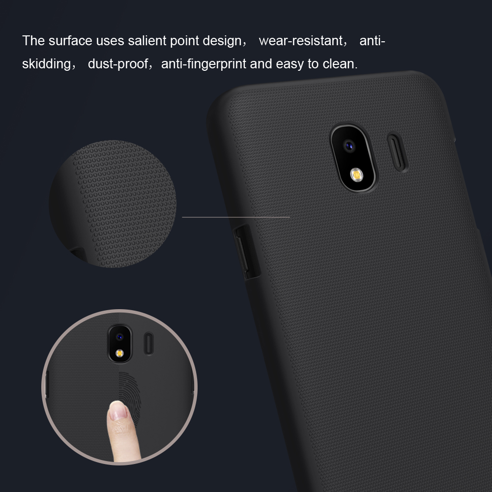 NILLKIN Frosted Shield Hard PC Protective Case for Samsung Galaxy J4 2018