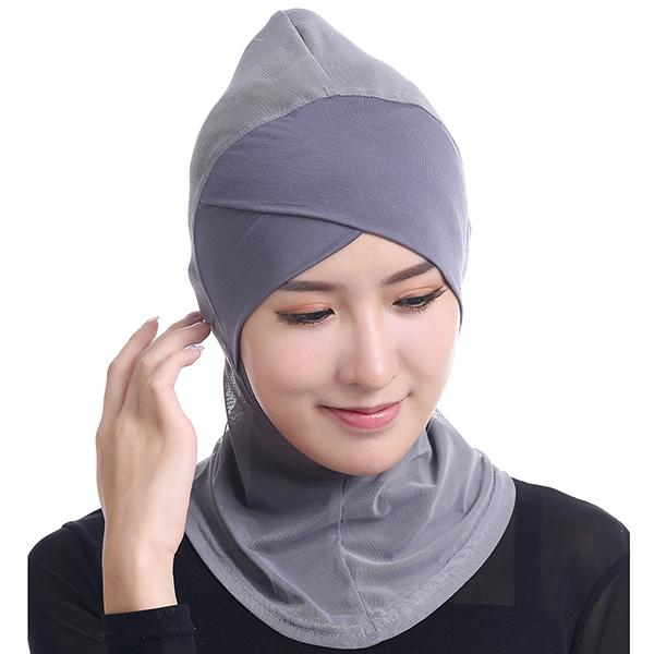 Женщины Хиджаб Шапка Полное покрытие Внутренний исламский тюрбан