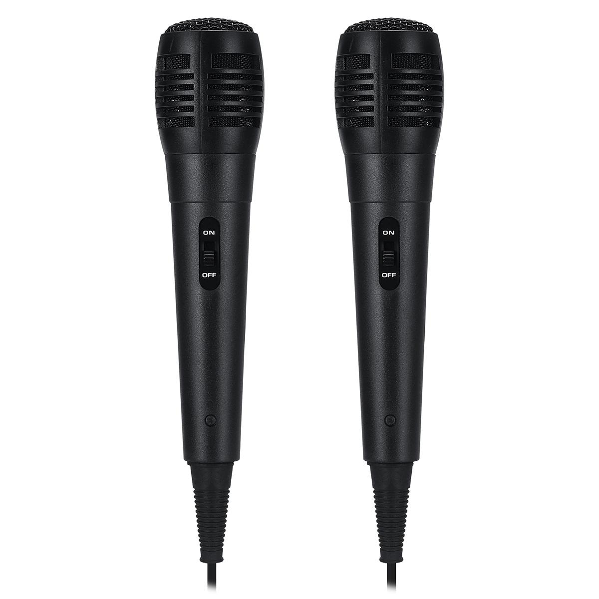 2шт PM-183 6,5 мм ручной проводной динамический караоке Микрофон