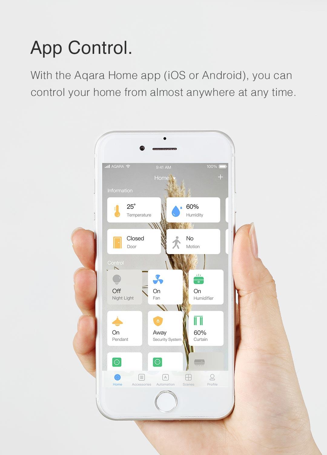 original aqara homekit version smart home hub wifi remote