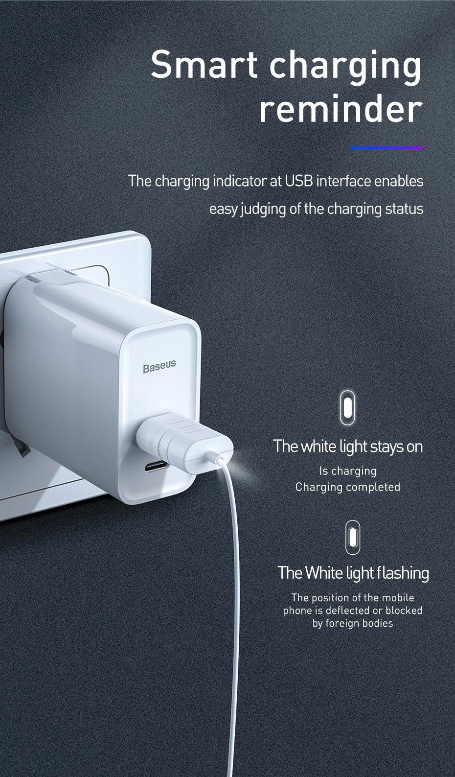 Baseus Mini Card Design 15W Qi Wireless Charger Fast Wireless Charging Pad  for iPhone X XR XS Samsung S10 Xiaomi mi 9 Huawei