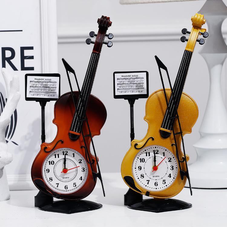Настольная сигнализация Часы Большая пластинка для скрипки