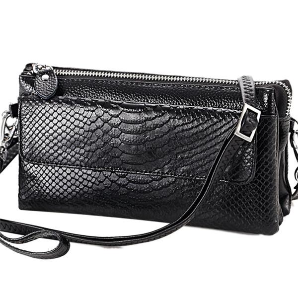 Serpentine Shoulder Bags Women Mini Crossbody Bags Multilayer Clutches Bags