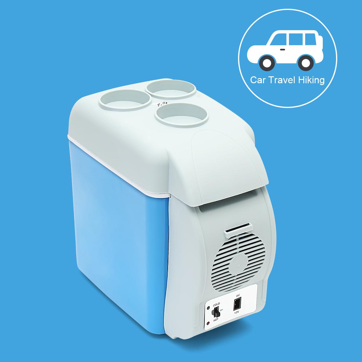 Portable Mini Car Fridge Freezer Cooler / Warmer 12V Portable Fridge Refrigerator 7.5L 33