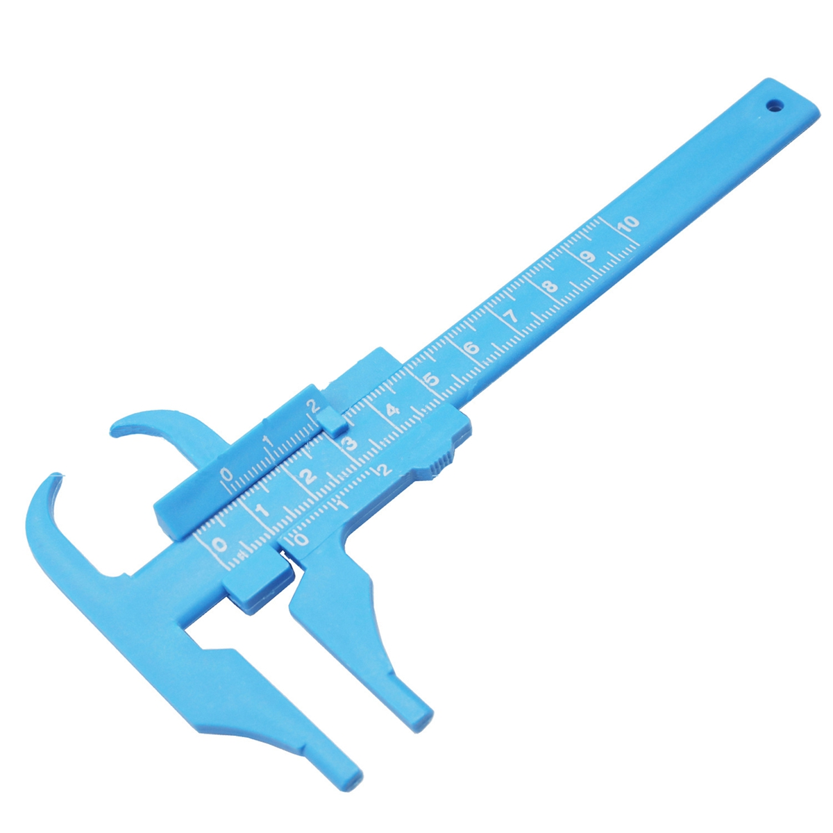 0-100MM 0.5MM Plastic Vernier Caliper Beauty Caliper