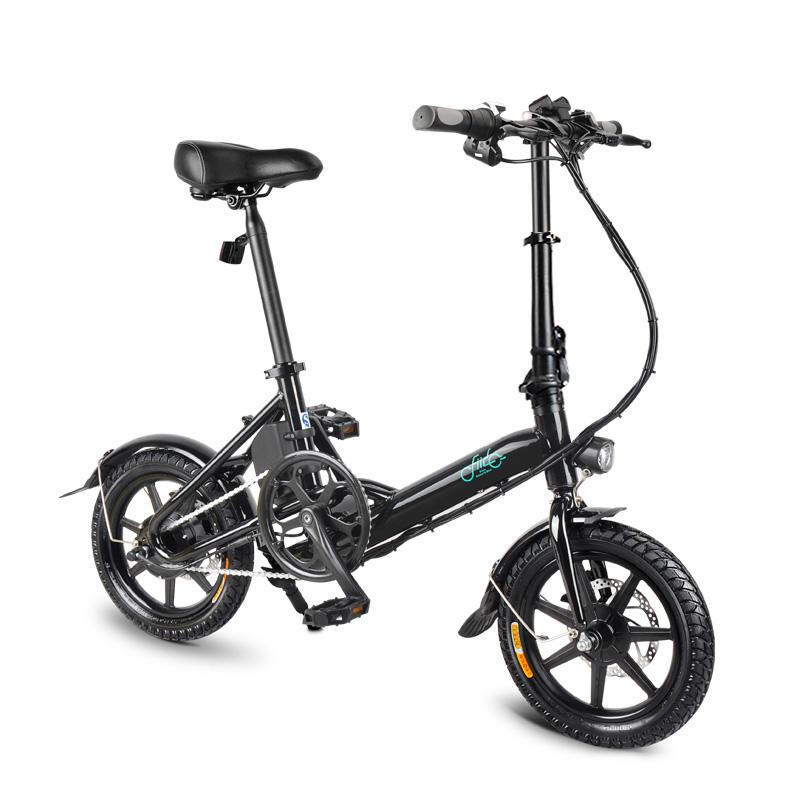 FIIDOD336V7.8Ah250W14 дюймов Складной велосипед для мопеда 25 км / ч Макс. 50 км Пробег Мини-электрический велосипед