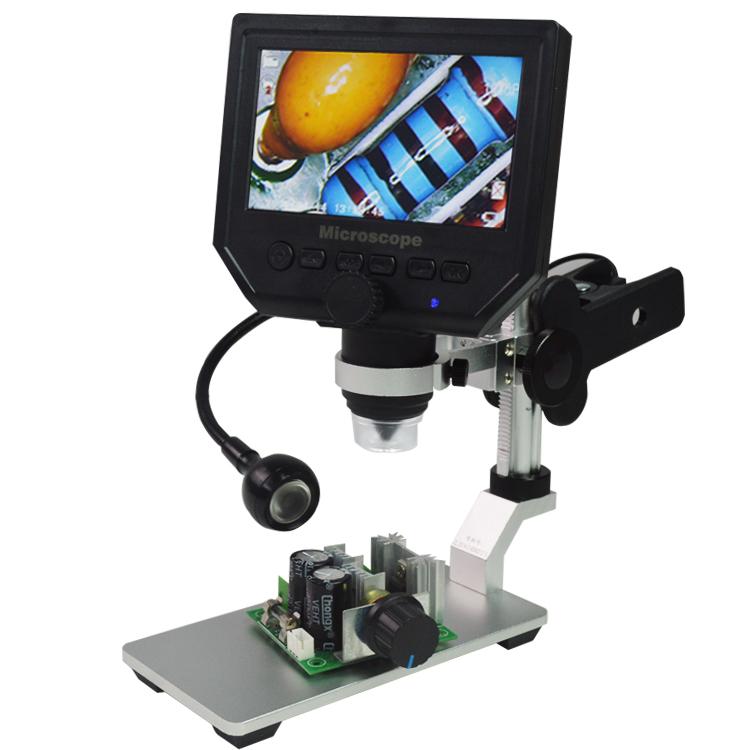 Универсальный письменный стол Зажим Лампа Стол Лампа Гибкий кронштейн Лампа для цифрового микроскопа G600