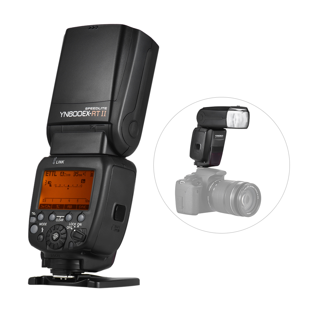 YONGNUO YN600EX-RT II 2.4G Wireless HSS Master TTL Flash Speedlite для Canon