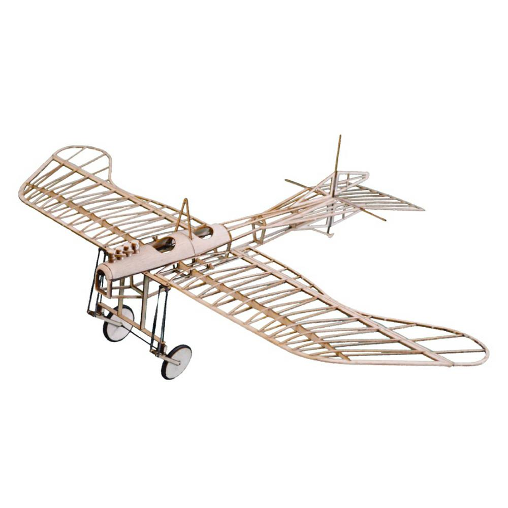 Etrich Taube 420mm Wingspan Monoplane Balsa Wood Laser Cut Building Model RC Airplane Kit