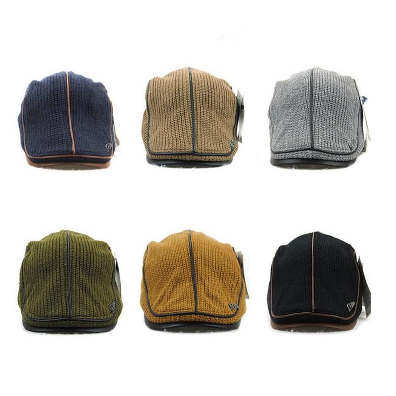 Мужскиеженскиевязаныешерстяныедетскиешапки Шляпы вождения На открытом воздухе Спортивная шапка для отдыха