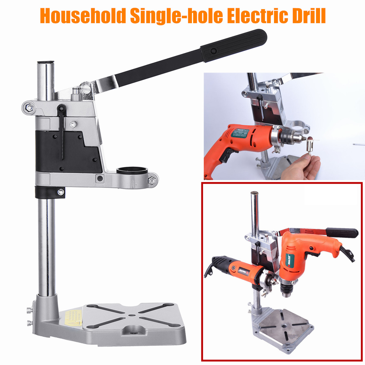 Electric Bench Drill Stand Household Single Hole Grinding Rack Stand Hanger Woodworking Machine