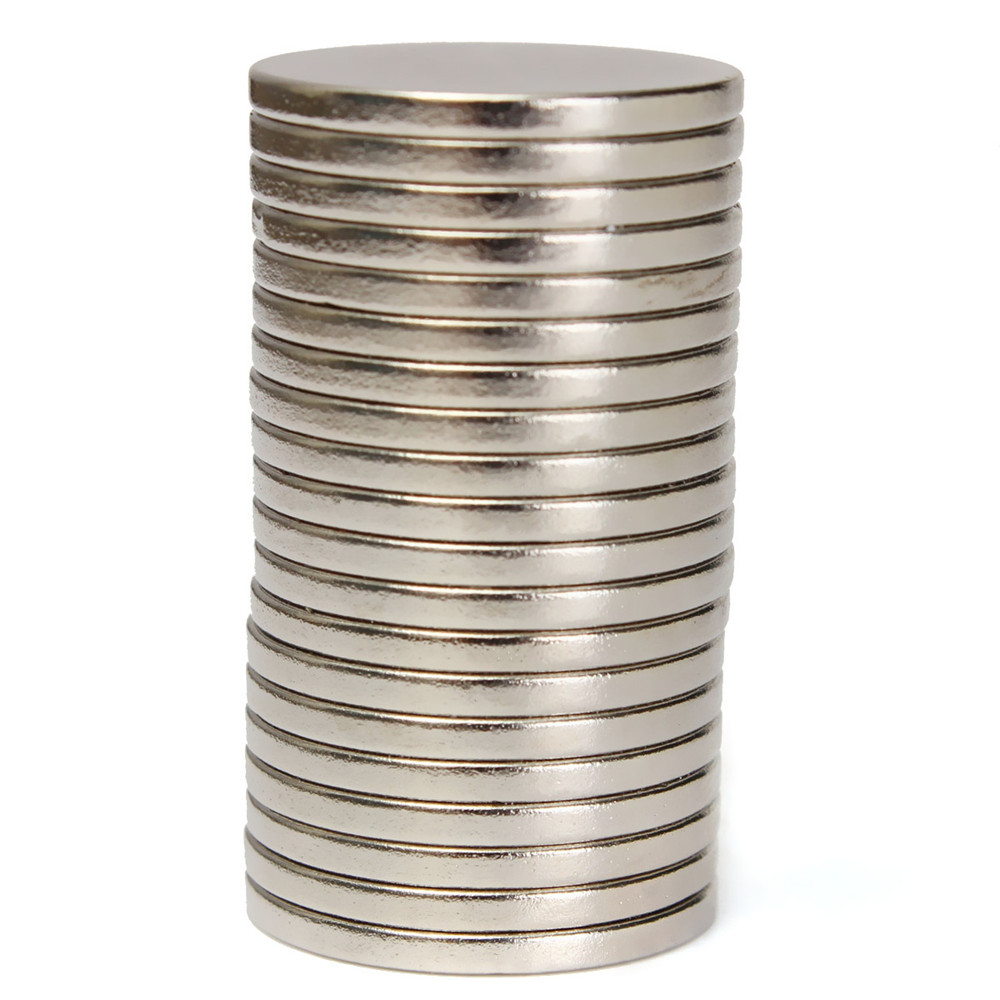 20pcs N52 20mm x 2mm Strong Disc Magnets Rare Earth Neodymium Magnets