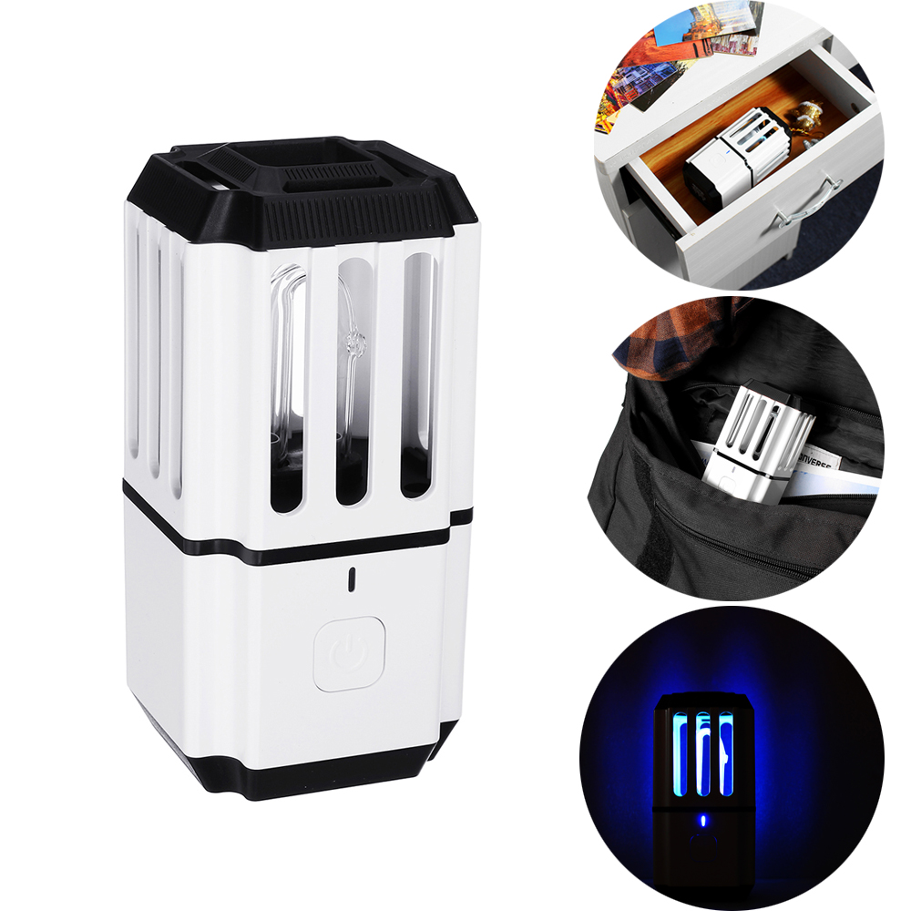 LUSTREON Portable Ultraviolet UV Ozone Sterilization Mites Germicidal Light USB Disinfection Lamp