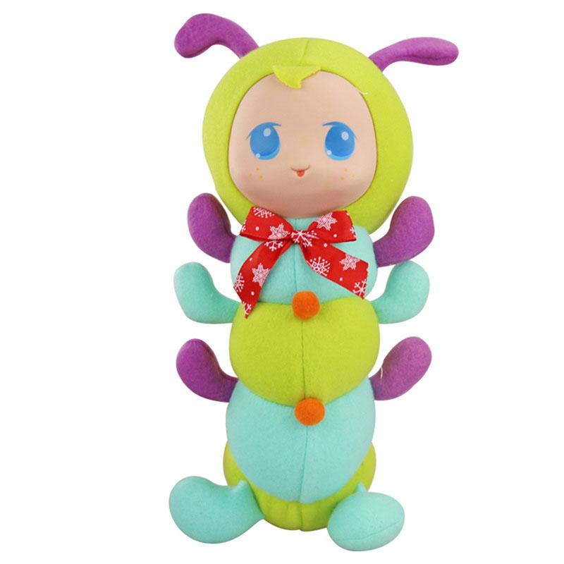 Фаршированная перед сном Playmate Короткая плюшевая игрушка Подарочная коллекция декора