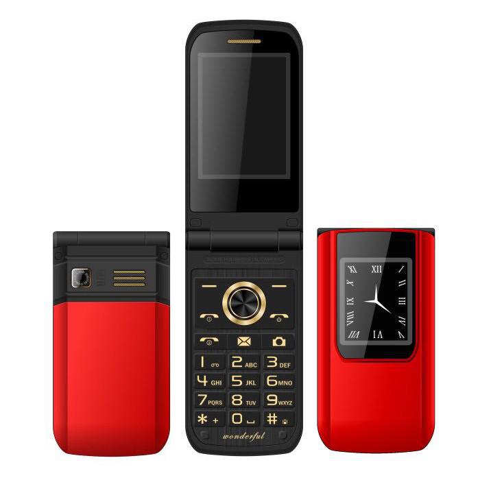 MAFAME92.6\'\'3800mAhТонкий Модный флип двойной сенсорный экран Двойные сим-карты двойной режим ожидания Особенный телефон