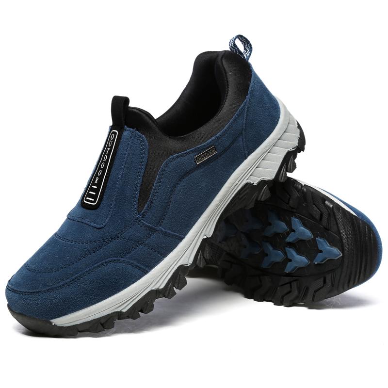 Мужчины Soft Слип на подошве из спортивной резины На открытом воздухе Обувь для путешествий по походным туфлям