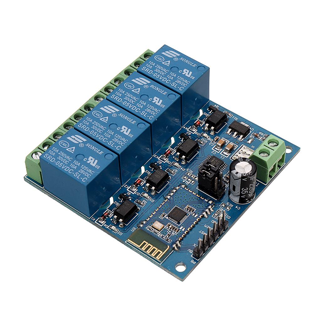 DC5V Module de relais Bluetooth mobile 4 canaux Android