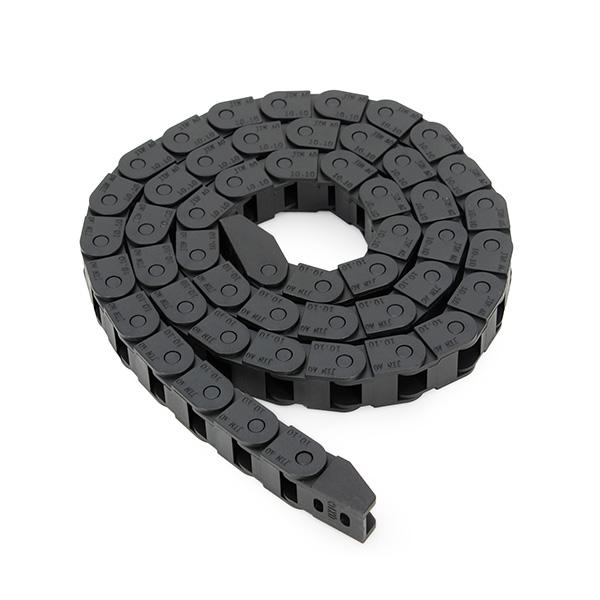 Machifit 10 x 10 мм Пластиковый кабель Drag Chain Провод Carrier Длина 1000 мм для фрезерного станка с ЧПУ