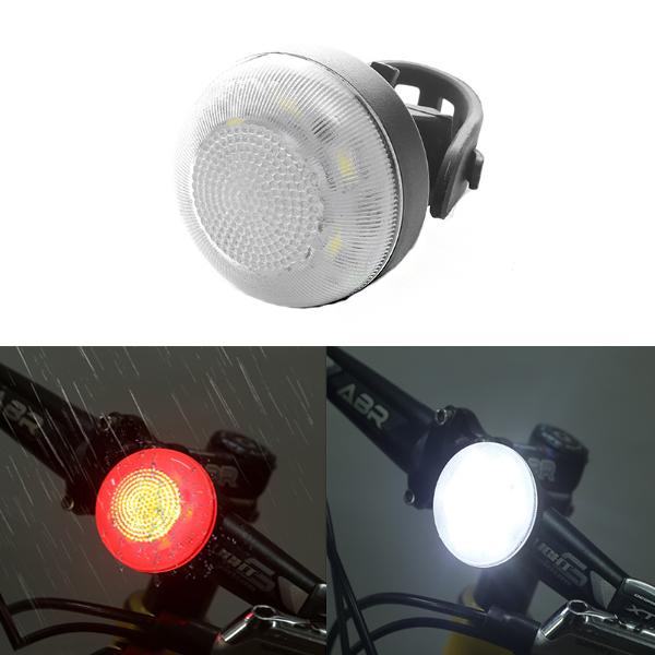 XANES STL02 Smart Bike Tail Light USB Charging Warning LED MTB Round Rear Back