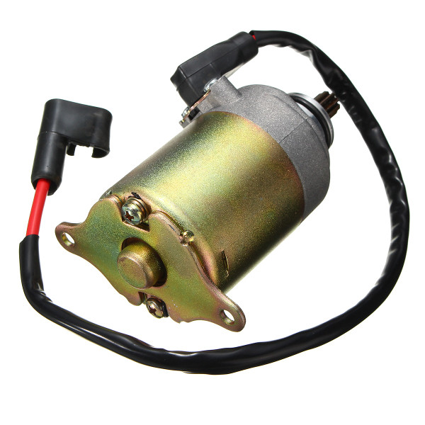 Electric Starter Motor For 150cc 125cc GY6 4 Stroke Scooter ATV Moped Go  Kart