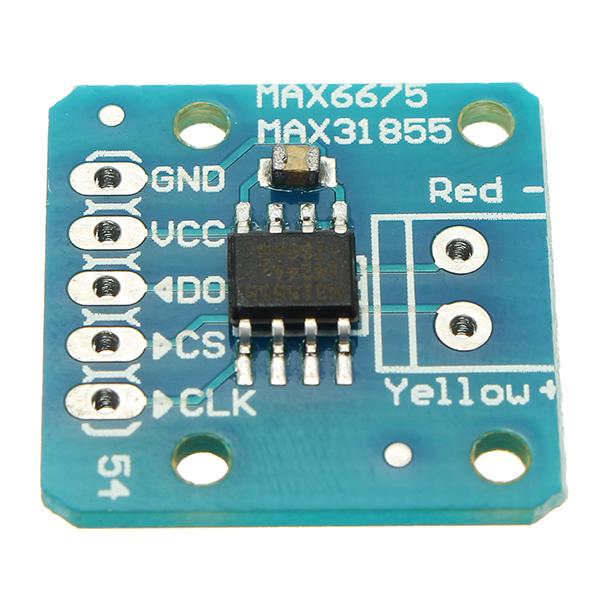 5Pcs MAX31855 MAX6675 SPI K Thermocouple Temperature Sensor Module Board  For Arduino