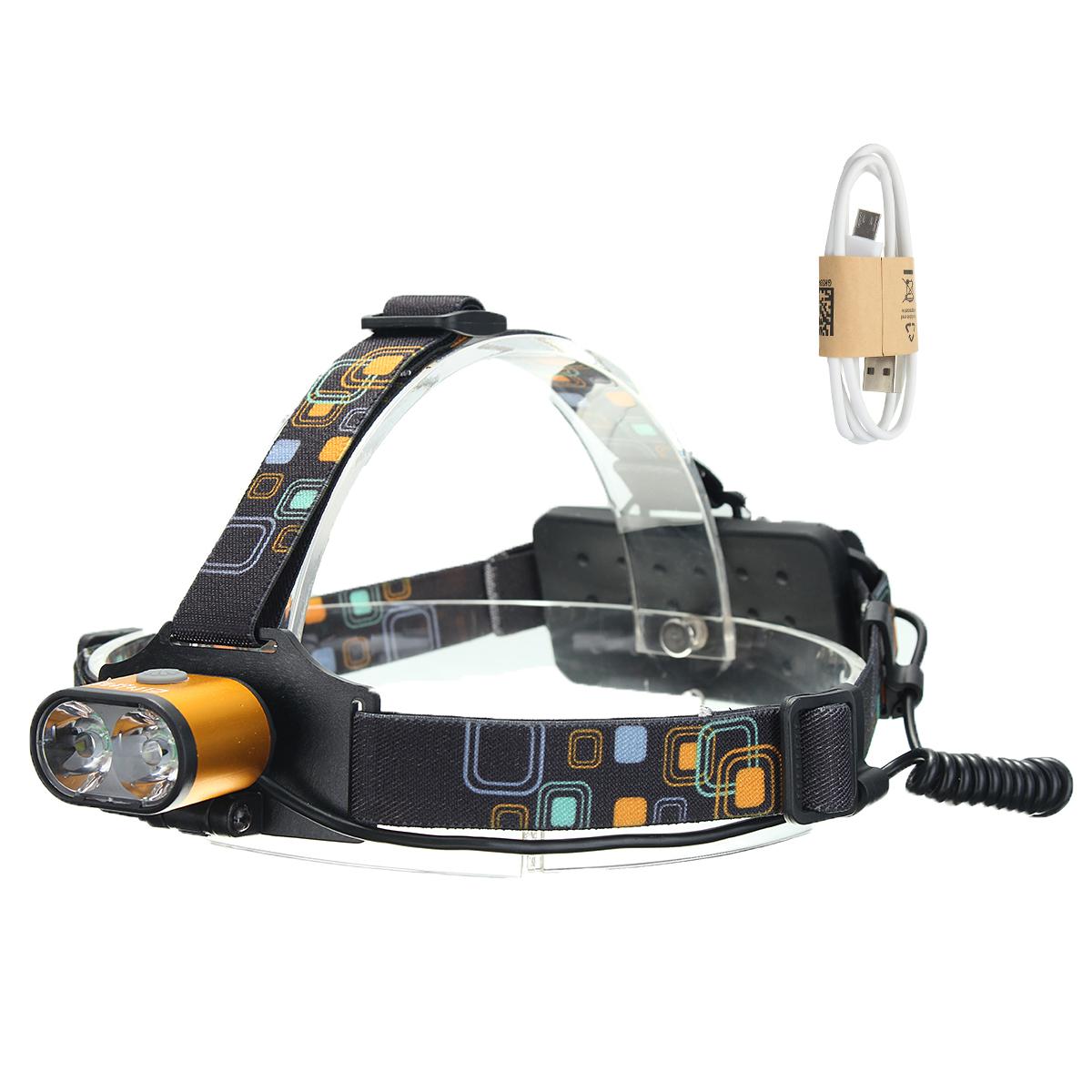 XANES1500люменT6ФараВодонепроницаемы Пешеходный велосипед для рыбалки Лампа