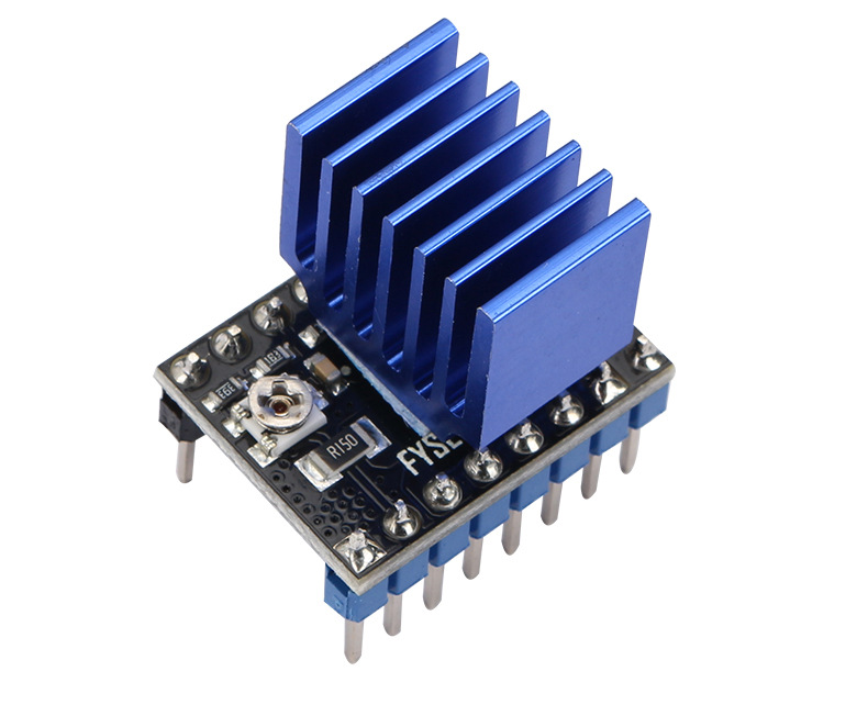 7V to 45V Microstepping ST820 Stepper Motor Driver + Heatsink for 3D Printer RAMPS