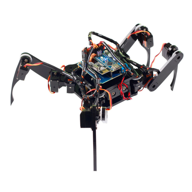 SunFounder Wireless Telecontrol Crawling Quadruped Robot Kit for Arduino Nano DIY Kit