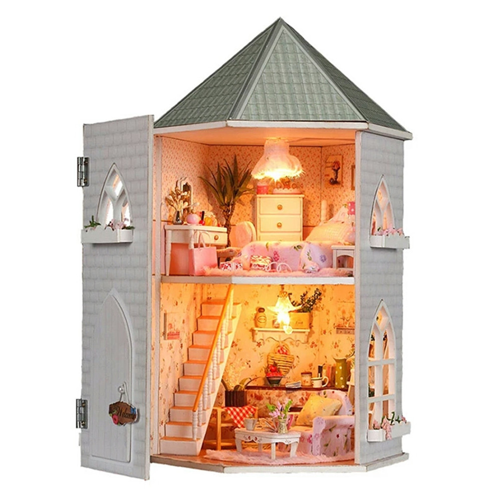 DIY Miniature Dollhouse Cocoa/'s Whimsy Without A Dust Cover Studio Kids Toy Gift