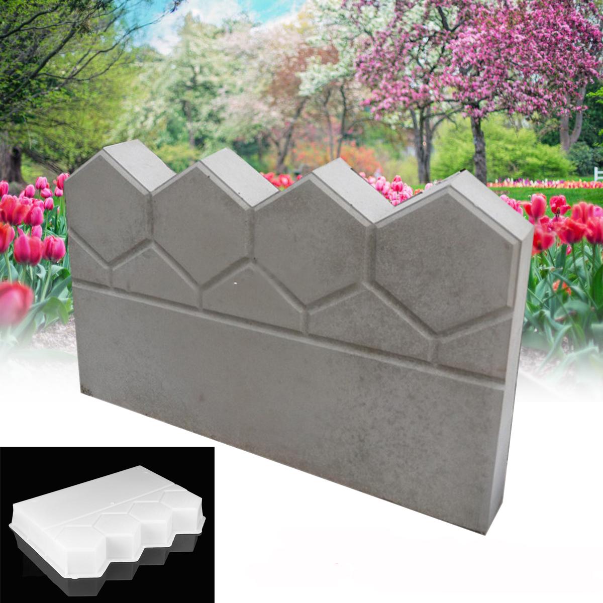 Moule en plastique de moule de chemin de jardin Moule en plastique de brique de ciment Brique de piscine en béton concret pervious